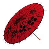 Oriental umbrella Stock Photo