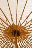 Oriental umbrella. Soft focus the detail of oriental umbrella closeup Stock Image