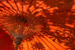 Oriental umbrellas Royalty Free Stock Photo