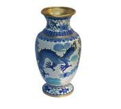 Oriental vase Stock Images