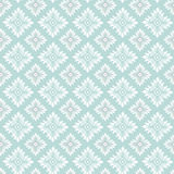 Oriental vector pattern with damask Stock Images
