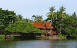Oriental villa Stock Image