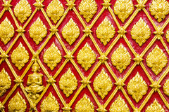 Oriental wall texture Stock Photography