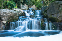 Oriental waterfall landscape Royalty Free Stock Photos