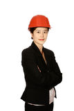 Oriental woman architect Stock Photos