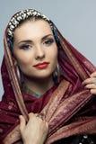 Oriental woman Royalty Free Stock Image