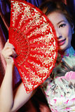 Oriental woman of classical beauty Stock Image
