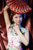 Oriental woman of classical beauty Royalty Free Stock Images
