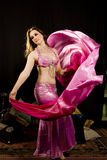 Oriental woman dancer Royalty Free Stock Image