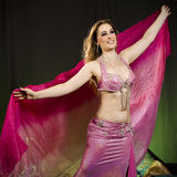 Oriental woman dancer Royalty Free Stock Photos