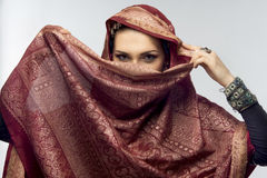 Oriental woman Stock Image