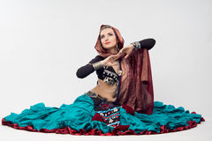 Oriental woman Stock Images