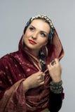 Oriental woman Stock Photos