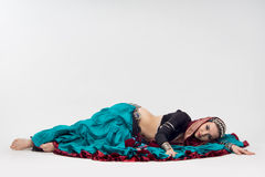 Oriental woman Royalty Free Stock Images
