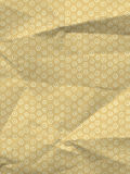 Oriental wrapping paper with circles and dots 2 Stock Photo