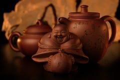 Orientale Tè-ha impostato 1. fotografie stock libere da diritti
