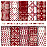 Orientalische geometrische Muster-Art Stockbild