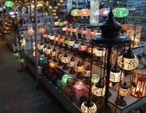 Orientalische Lampen Lizenzfreie Stockbilder