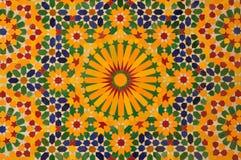 Orientalische Mosaikdekoration Stockbilder