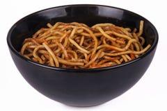 Orientalische Nudeln Stockfotos