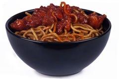 Orientalische Nudeln lizenzfreies stockfoto