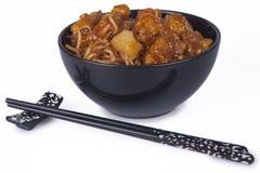 Orientalische Nudeln stockbild