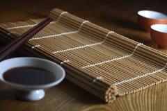 Orientalische Tabelleneinstellung Lizenzfreie Stockfotografie