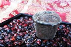 Orientalische Teeeinstellung Stockfoto
