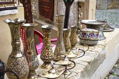Orientalische Teller Stockfoto