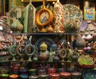 Orientalische Teller für Basar Lizenzfreie Stockfotos