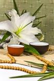 Orientalische traditionelle Lebensdauer der Tezeremonie noch. lizenzfreies stockbild