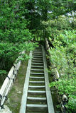 Orientalische Treppen Stockfotos