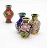 Orientalische Vasen-Clique Lizenzfreie Stockfotos