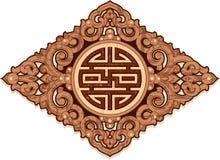 Orientalische Verzierung-Muster-Dekoration) Lizenzfreie Stockfotos