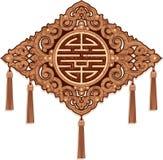 Orientalische Verzierung (Musterdekoration) Stockfotografie
