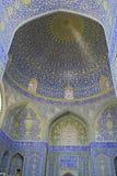 Orientalische Verzierungen von der Isfahan-Moschee, der Iran Stockfoto