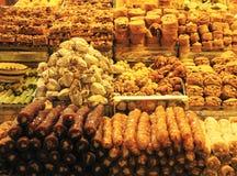 Orientalische Vielzahl von Bonbons Lizenzfreie Stockfotografie