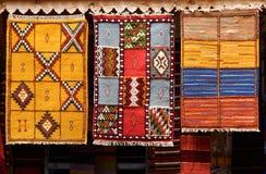 Orientalische Wolldecken Lizenzfreies Stockfoto