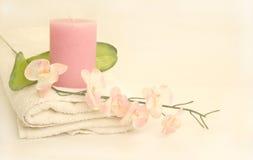 Orientalischer Blüten-Badekurort Stockbild