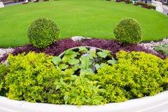 Orientalischer Garten Stockfotos