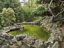 Orientalischer Garten Lizenzfreies Stockfoto