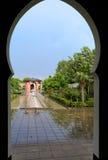 Orientalischer Garten Stockfotografie