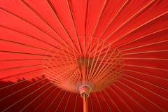 Orientalischer Regenschirm Lizenzfreie Stockfotos