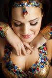 Orientalischer Tänzer Lizenzfreie Stockbilder