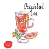 Orientalischer Tee stock abbildung