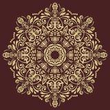 Orientalisches abstraktes Vektor-Muster Lizenzfreie Stockbilder