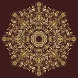 Orientalisches abstraktes Vektor-Muster Stockfoto