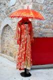 Orientalisches Artabendkleid Stockbild