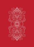 Orientalisches Blumenhintergrunddesign Sry Lanka Stockfoto