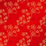 Orientalisches chinesisches nahtloses Muster des neuen Jahres Stockfotos
